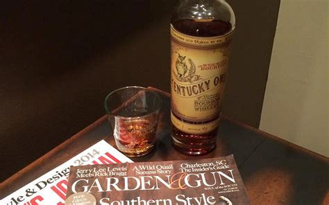 Garden And Gun Keeneland 2014 Kentucky Owl Bourbon Whiskey