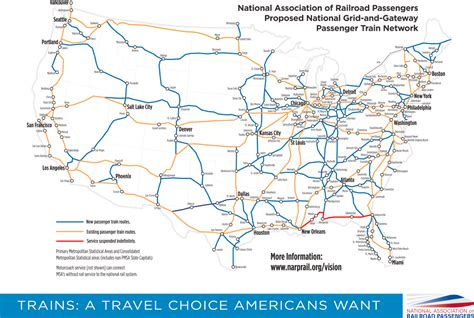 railway map of usa maps update 569400 rail travel usa map a guide to