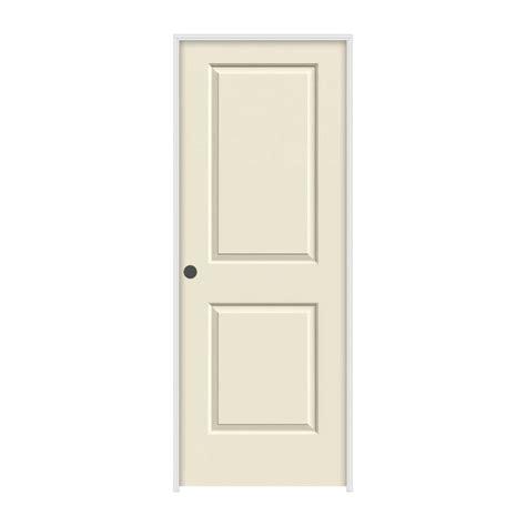 Jeldwen Interior Doors Jeld Wen 28 In X 80 In Cambridge Primed Right Smooth Solid Molded Composite Mdf