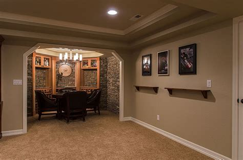 Ideas For Finishing Basement Walls Fresh Bar Basement Finishing Ideas 12719