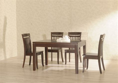 dining room sets los angeles furniture brown wooden rectangle dining table with six