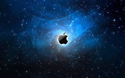 apple wallpaper with stars computer apple logo desktop wallpaper nr 37919 by visionfez