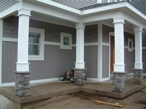exterior house pillars design 17 best ideas about front porch pillars on pinterest porch pillars front porch