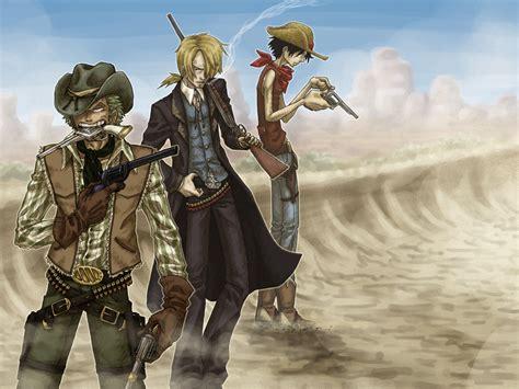 cowboy trio  syblatortue  deviantart