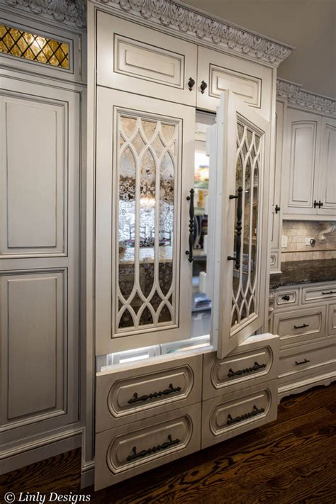 mirrored kitchen cabinets complete kitchen remodel