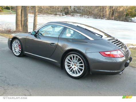 porsche slate grey metallic 2007 slate grey metallic porsche 911 targa 4s 2697676
