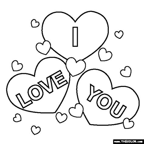 printable coloring pages i love you i love you coloring pages for teenagers printable 02