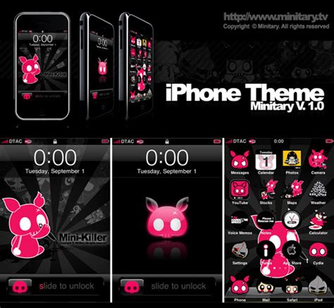 cute themes on winterboard minitary iphone theme v 1 0 by minitary on deviantart