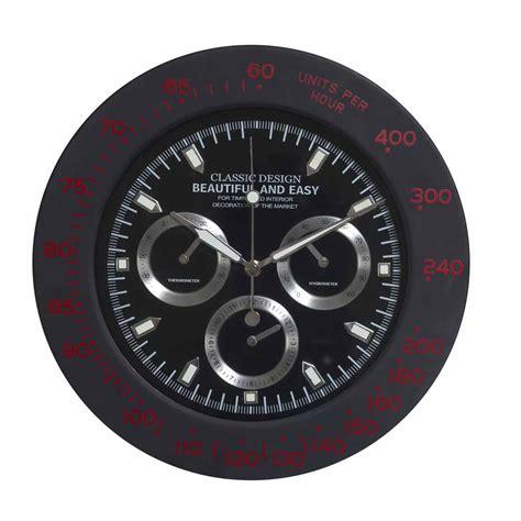 amazing wall clocks amazing black round analog wall clock india