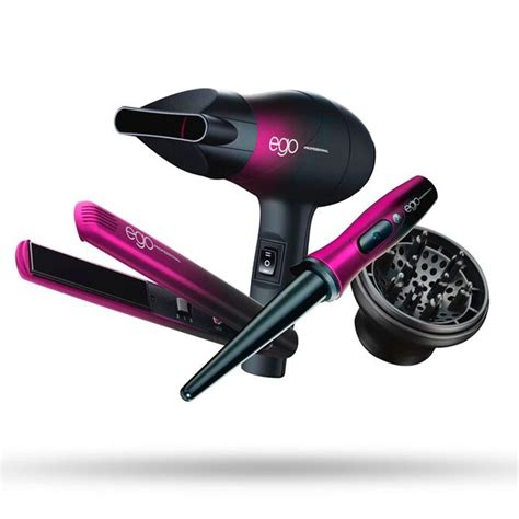 Ego Professional Hair Dryer Set ego professional special edition pink jet set travel kit for class hair health