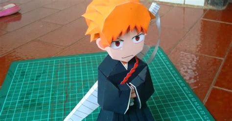 Ichigo Papercraft - ichigo kurosaki papercraft model paperox free