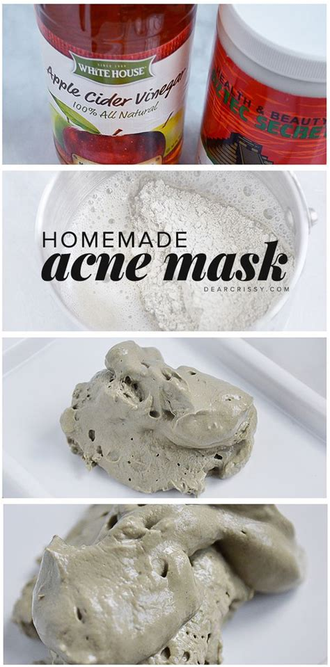 mask diy recipe diy acne mask recipe apple cider and braggs