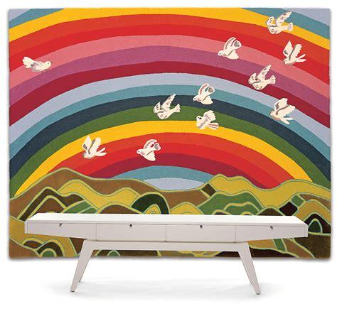 Teppich Regenbogen