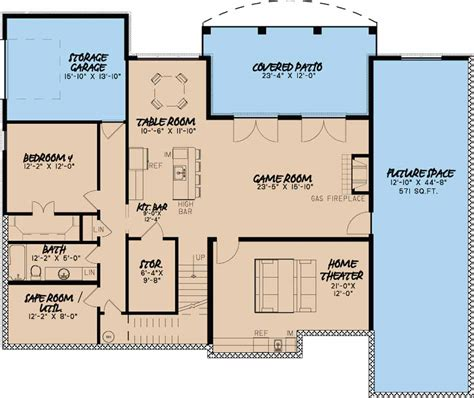 European House Plans With Basement Large European House Plan With 3 Car Courtyard Entry Garage