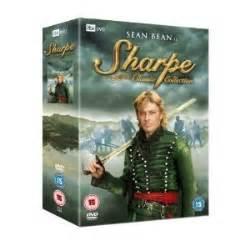 dvd format pal region 2 amazon com sharpe classic collection 8 dvd box set non