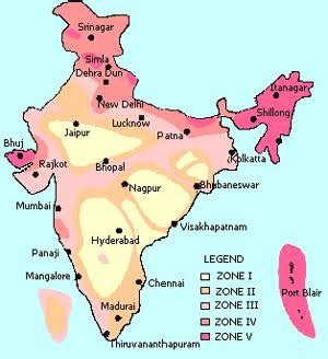 earthquake zone in gujarat seismic factors zones in india and its importance in
