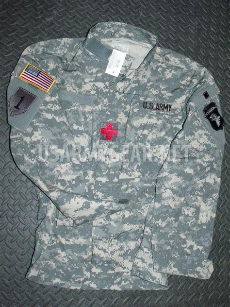 Us Patch New new us army acu digital combat coat shirt