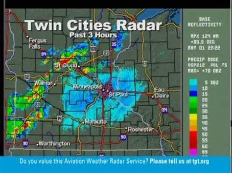 twin cities weather radar 5 1 12 st paul mn tpt weather radio tornado watch 7 08