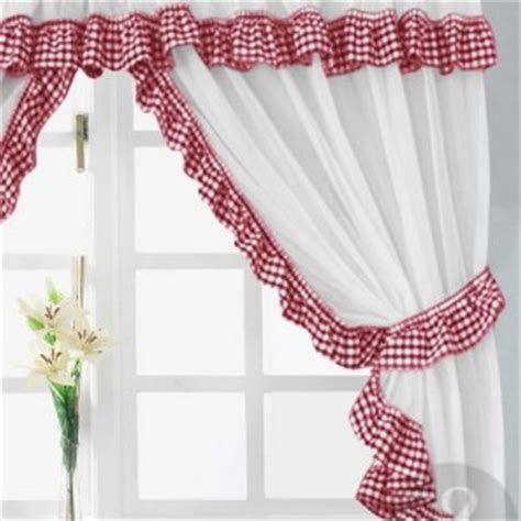 Poppy Kitchen Curtains And White Poppy Kitchen Curtains