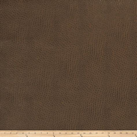 Where To Buy Leather Upholstery Fabric by Fabricut Westbury Faux Leather Pecan Discount Designer