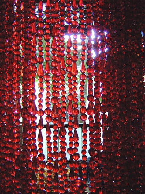 red beaded curtains transparent red acrylic crystal bead curtains in langford