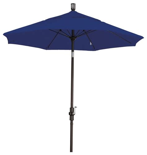 Sunbrella Patio Umbrella Ultra Premium Sunbrella 7 5 Foot Patio Umbrella 5 Colors Contemporary Outdoor Umbrellas