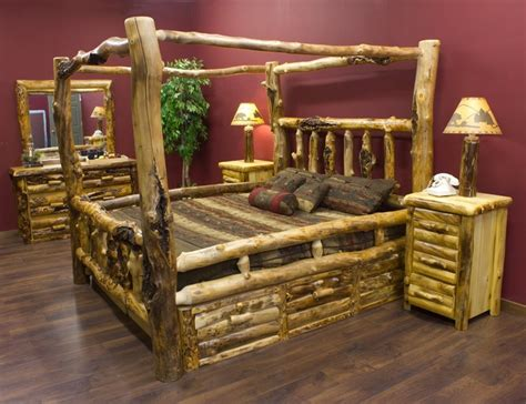 log bedroom suite log bedroom suite dream house pinterest paint log
