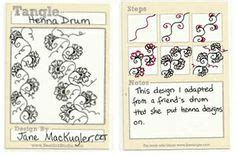 zentangle pattern henna drum zentangle instructions steps how to patterns on