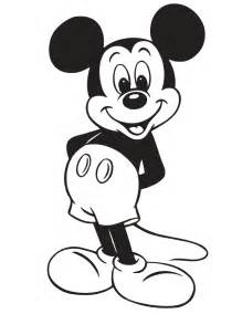 mickey mouse clipart black white 79 cliparts