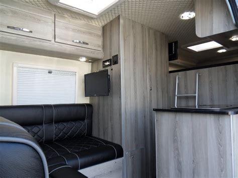 volkswagen crafter interior vw crafter lwb sporthome l shape lounge motocross