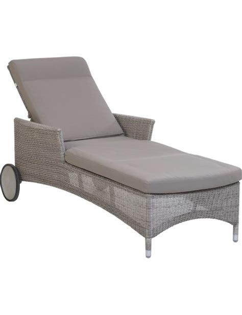 galet de chaise chaise longue de jardin en r 233 sine couleur galet atoll