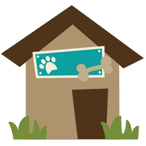 dog house digital dog house svg file for scrapbooking dog house svg cut file dog house cut file for