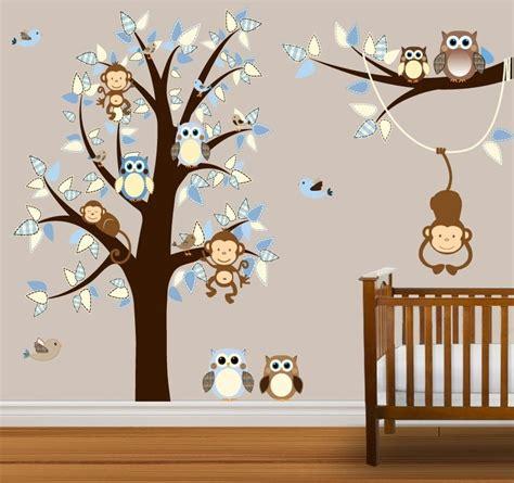 41 Best Tree Wall Decals Images On Pinterest Tree Wall Nursery Monkey Wall Decals