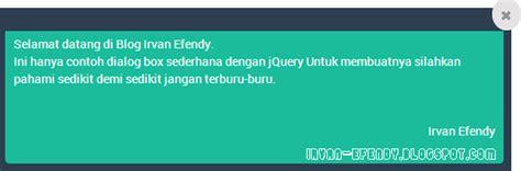 contoh dialog png membuat dialog box sederhana dengan jquery blog irvan efendy