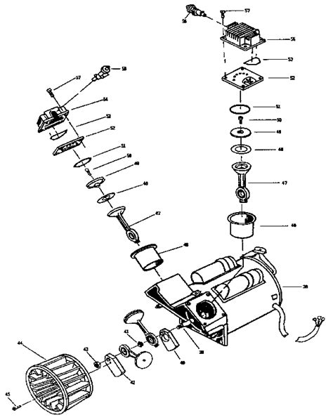 craftsman 919 air compressor parts wiring diagrams