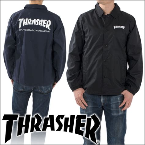 Skate Mag Coach Jacket playerz rakuten global market thrasher thrasher mag