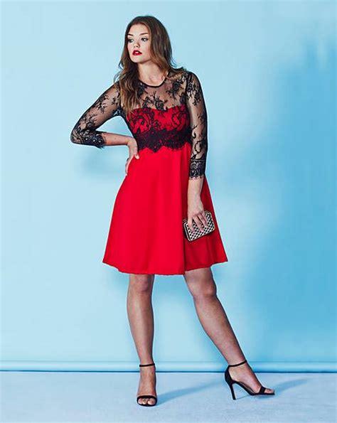 dress sl 0316001tuneeca simply look ax sleeve skater dress simply be