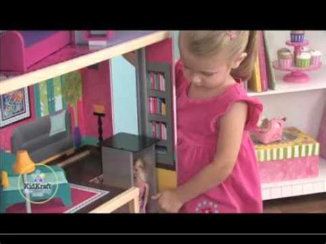 city lights doll house city lights dollhouse by kidkraft youtube