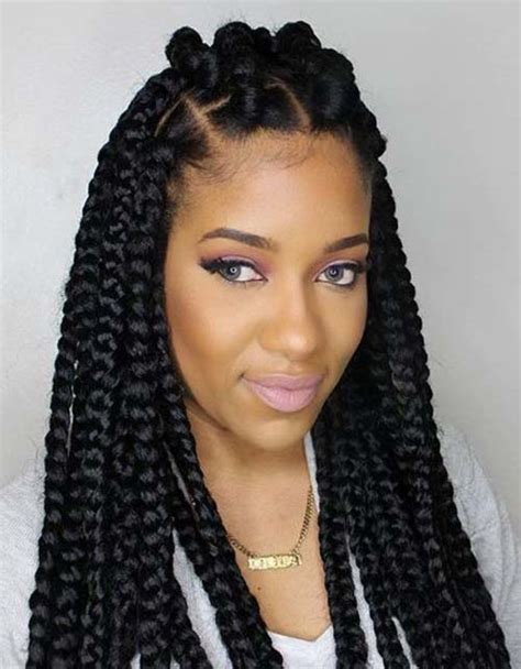 Cool Braided Hairstyles by 20 Cool Black Braided Hairstyles