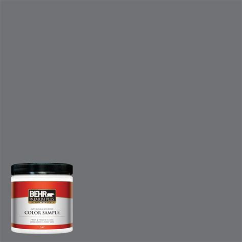 behr paint color collectible behr premium plus ultra 5 gal n500 3 tin foil flat