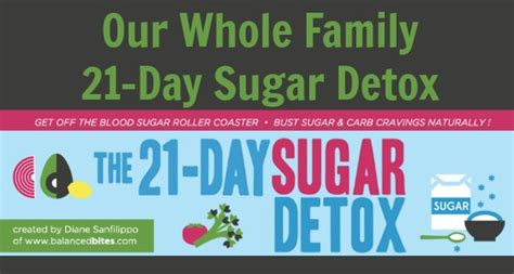 Family Sugar Detox by Our Whole Family S 21 Day Sugar Detox Whole Family Strong