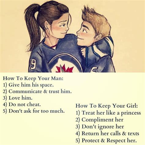 How To Keep A Man Meme - girl quotes and boy quotes