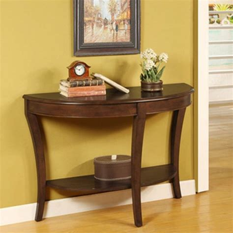 Half Table For Hallway Table Half Sofa Entry Living Room Hallway Furniture Shelf