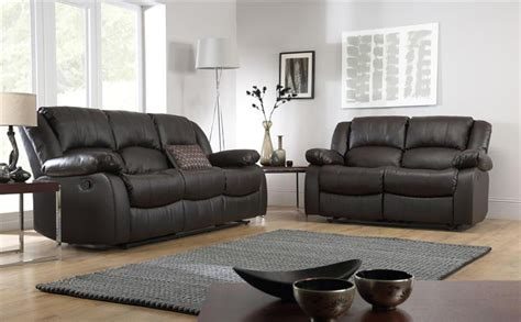 dakota leather upholstery dakota leather recliner sofa suite 3 2 seater brown only