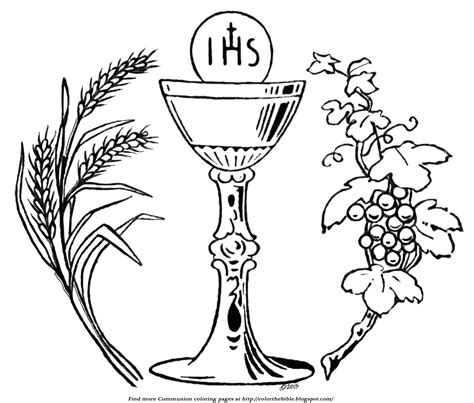 Holy Communion Printable Coloring Pages by Communion Coloring Pages Coloring Pages