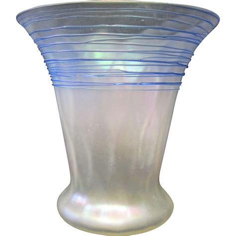 Steuben Vase by Steuben Glass Vase From Zinziantiques On Ruby