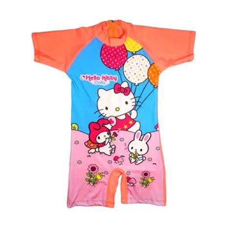Baju Anak Lnice Orange jual motif hello baju renang anak orange harga kualitas terjamin