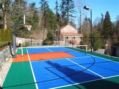 Backyard Sport Court Ideas 25 Best Ideas About Backyard Sports On Pinterest Diy Yard To Play Now And