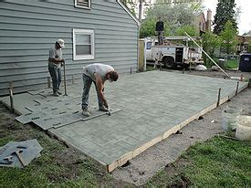 Cutter Backyard Spray Stamped Concrete Wikipedia