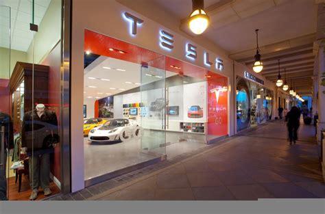 Tesla Store Santana Row Tesla Opens Santana Row Showroom Autoevolution